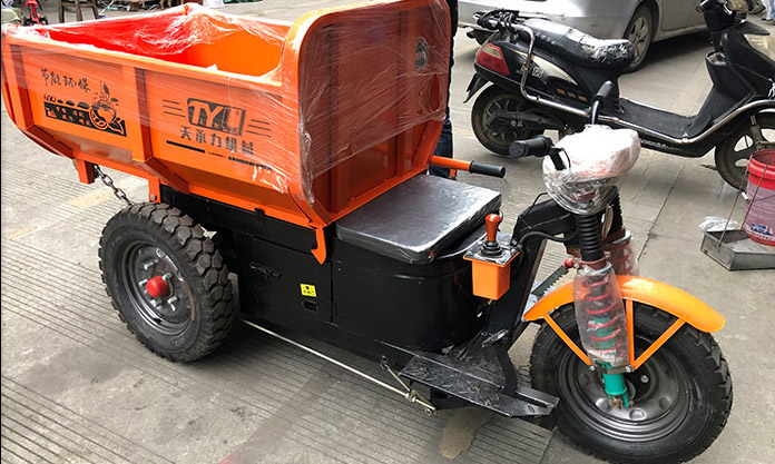 Engineering electric tricycle